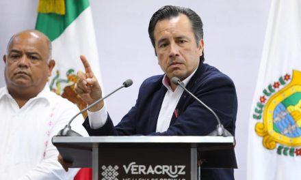 Gobernador Cuitláhuac García Jiménez pide a Fiscalía acelerar avances en investigación de delitos