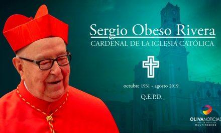 #ÚltimaHora Confirman el fallecimiento del Cardenal Sergio Obeso Rivera. ¡Descanse en paz!