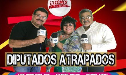 """DIPUTADOS ATRAPADOS en """"COMES Y T VAS"""" con Maruchy Bravo, Wilber Mota y Luis Fernando Ruz"""