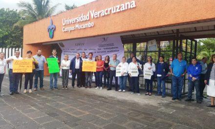 Inicia paro de brazos caídos de la UV en campus de Boca del Río y Veracruz