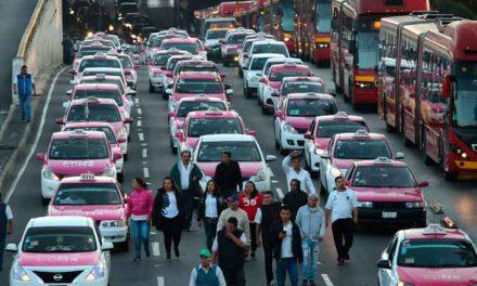 Manifestación de taxistas podría durar dos días: dirigente