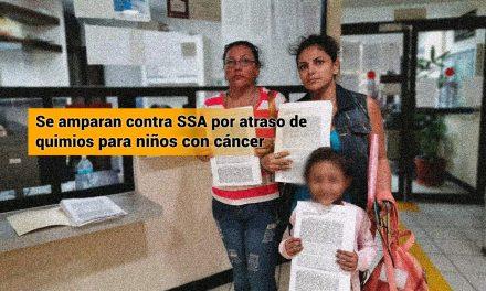 Madres se amparan contra SSA por atraso de quimios para niños con cáncer