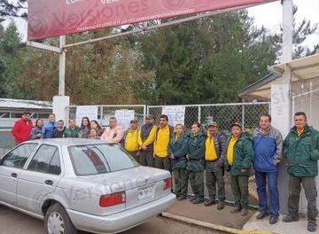 Brigadistas de incendios forestales toman oficinas de  @CONAFOR ; denuncian que les entregan equipo de mala calidad por recortes