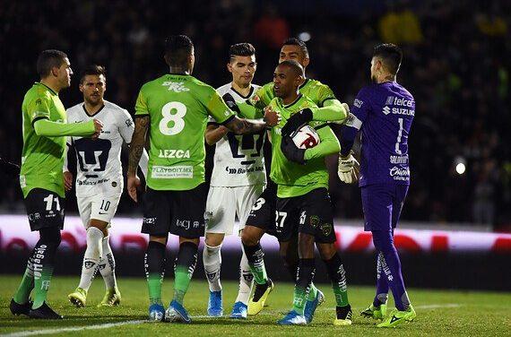 Vibrante empate entre Bravos y Pumas en arranque de fecha 2