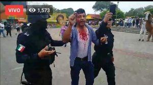 DESALOJAN CON VIOLENCIA A INDIGENAS EN EL TAJIN