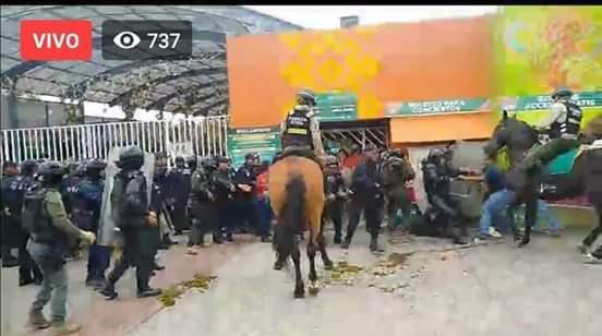 Con violencia la Guardia Nacional Libera el parque temático en el Tajin (FOTOS)