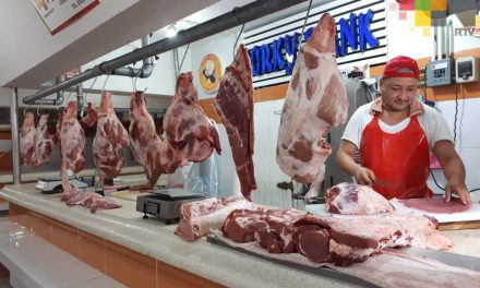 En la zona de mercados de Veracruz,repunta la venta de carne afirman comerciantes