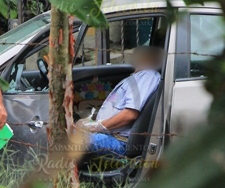 Acribillan a líder taxista de Papantla (fotos y video)