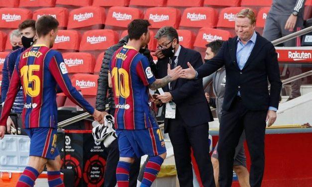 Dejen en paz a Messi: Ronald Koeman
