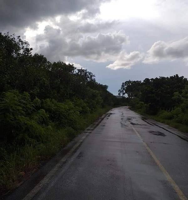 Carretera a La Martinica, en pesimas condiciones: habitantes