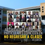 RECHAZAN REGRESO A CLASES PRESENCIALES EN COATZCAOALCOS
