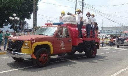 Dan el último adiós a jóvenes bomberos con homenaje póstumo en Fortín