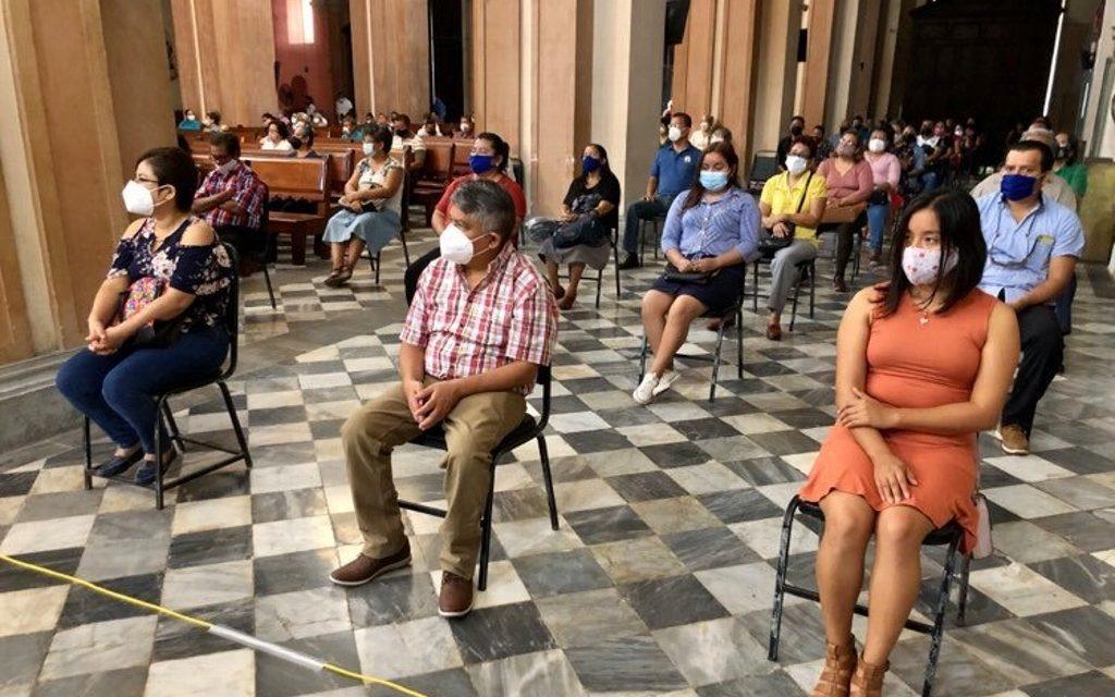 Con semáforo amarillo, así será la capacidad de la catedral de Veracruz y la higiene