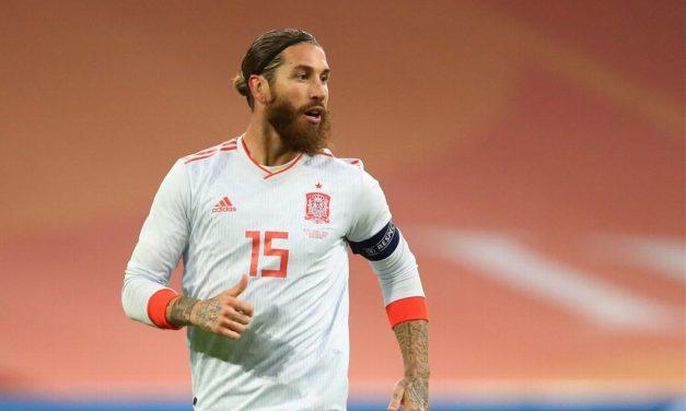 ¡Sin Sergio Ramos! España presenta lista para la EURO