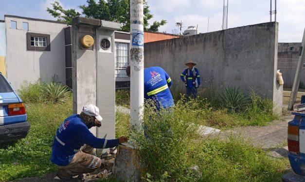 GRUPOS MAS CONTINUA HACIENDO CORTES DE AGUA EN DOMICILIOS AMPARADOS